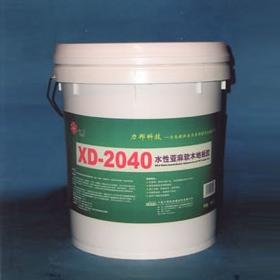 聚氨酯地坪XD-2040 水性亚麻软木地板胶
