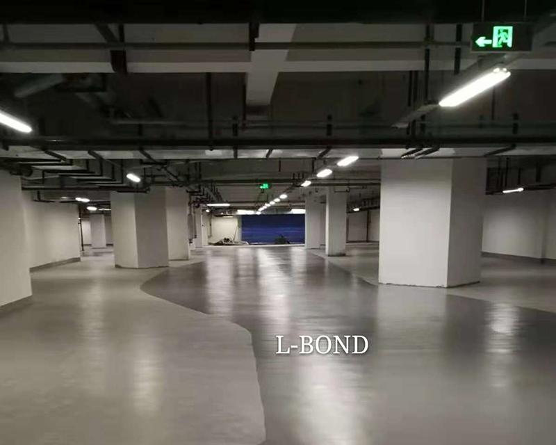 成都领地中心 地下停车场
